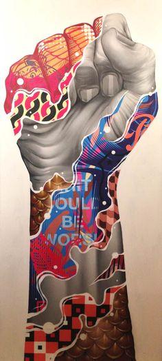 REVOLT – Les créations Street Art de Tristan Eaton