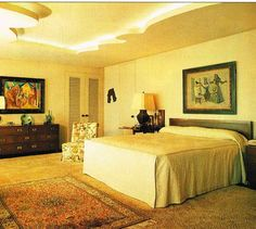 Nelson Rockefeller Fifth Avenue Residence - master bedroom