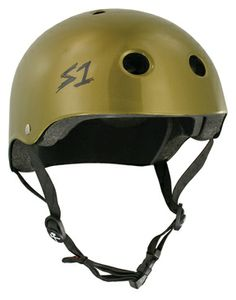 S1 Helmets S1 Lifer Helmet - Certified Multiple Impact - Metallic Gold