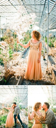 magical wedding engagement session