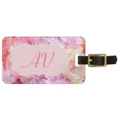 ==>>Big Save on          	Pink Roses Monogram Name Luggage Tag           	Pink Roses Monogram Name Luggage Tag we are given they also recommend where is the best to buyThis Deals          	Pink Roses Monogram Name Luggage Tag lowest price Fast Shipping and save your money Now!!...Cleck Hot Deals >>> http://www.zazzle.com/pink_roses_monogram_name_luggage_tag-256869863123443964?rf=238627982471231924&zbar=1&tc=terrest