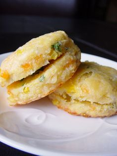 Cheddar Corn Cakes and Jalapeño Chive Butter