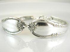 Spoon Bracelet Spoon Jewelry Silverware by SilverSpoonCreations, $27.00