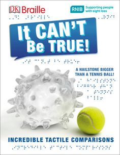 DK Braille: It Can't Be True (DK Publishing, 2016) - IBBY Outstanding Book for Children with Disabilities