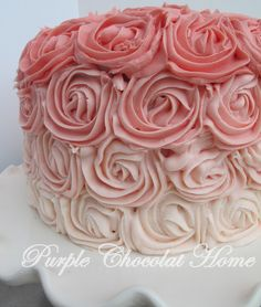 Love this cake, preferably in different colors but still!
