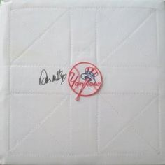 NY Yankees Don Mattingly signed full size baseball base w/ proof photo. Proof photo of Don signing will be included with your purchase along with a COA issued from Southwestconnection-Memorabilia, guaranteeing the item to pass authentication services from PSA/DNA or JSA. Free USPS shipping. www.AutographedwithProof.com is your one stop for autographed collectibles from New York sports teams. Check back with us often, as we are always obtaining new items.