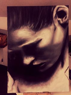 30 cm x 40 cm Öl  Sensual Women