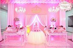 Resultado de imagen para decoracion de la minnie rosa en pinterest