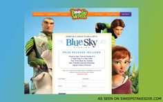 To win a trip to New York City for a tour of Blue Sky Studios.