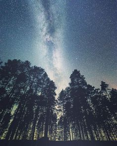 erik_saarnio Milky way from east Finland. It's quite dark nights now!