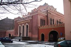 The New Orthodox Synagogue, Košice was built in the years at Puškinova Street near the historic centre of Košice, Slovakia. It superseded the older Orthodox Synagogue in Zvonárska Street, constructed in 1899 to the design of János Bratislava, Jewish History, Central Europe, Place Of Worship, Old Town, Croatia, Around The Worlds, Mansions, Country