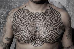 Kenji Alucky  chest stippling