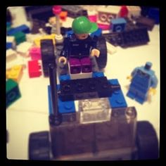 Makerspace Moments: Creativity and Science with LEGOs