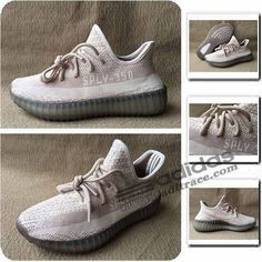 size 40 708bd ea5bf Adidas Yeezy Boost SPLY-350 V2 Nouvelles Chaussure Homme Rose Blanche   aditrace