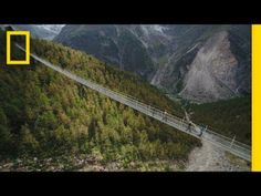 Could You Walk Across the Worlds Longest Pedestrian Suspension Bridge? | National Geographic #news #alternativenews