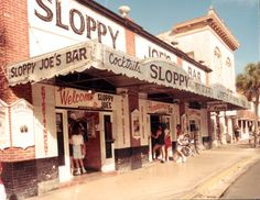Sloppy Joe's Bar located at 201 Duval Street in Key West, Florida, opened in 1933. The bar, which lies within the Key West Historic District, was added to the National Register of Historic Places in 2006.
