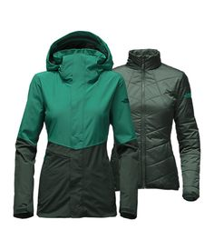 0a35bec574 FINALLY found a green jacket to love [WOMEN'S GARNER TRICLIMATE JACKET] North  Face Jacket