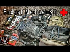 DIY Budget Medical Kit http://rethinksurvival.com/diy-budget-medical-kit-video/