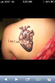Sick heart tattoo