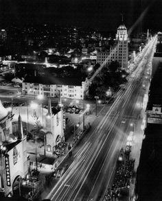 Hollywood at Night - 1956
