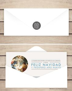 Christmas online para la Federación española de Bancos de Alimentos.