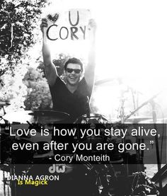 Quotes from Cory Monteith