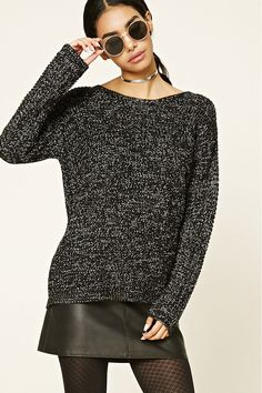 217b419d8a897 Style Deals - A chunky knit sweater featuring a boxy silhouette