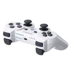 Original WHITE Sony PS3 PlayStation 3 Wireless OEM Dualshock 3 Controller USA #dualshock #controller #wireless #playstation #white #sony #original