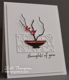 Stamping with Loll: Ikebana