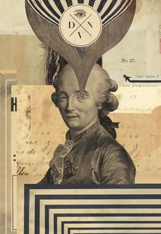Divan hired me to work on their whole identity, but with a focus on some of my collage work.