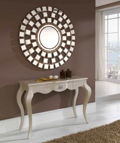1000 images about espejos decorativos on pinterest - Espejos pequenos decorativos ...