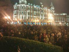 Oviedo, Spain (spanish revolution 2/2013)