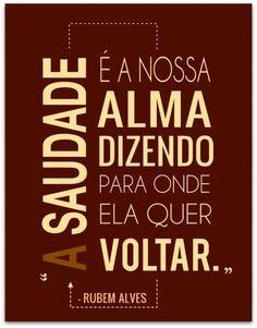 Saudade <3