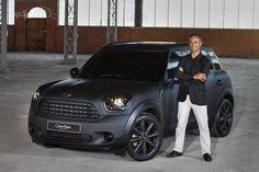Mini // Countryman // Matte Black #DreamCar #MINICooper