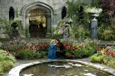 Vlad & Mirena in the rose garden - deleted scene from Dracula Untold