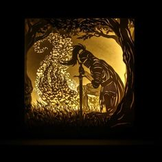 Knight Of Flowers  Badger Burrow Dreamboxes