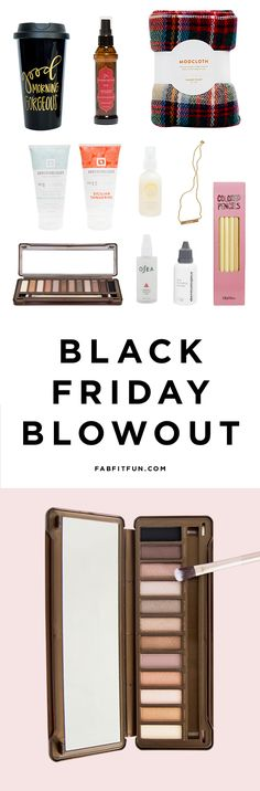 Psst! We're starting Black Friday Early! Use code PURE and it's just $39.99 for over $250 of full-size, glam products like ModCloth scarf, Pure Cosmetics eyeshadow palette, Manna Kadar lip stain, Marrakesh Hair Oil, Jook + Nona gold necklace and more! But hurry, limited supplies!