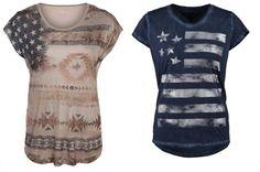 Hilfiger Denim Luxie Camiseta Print Peacoat complementos camisetas y blusas print Peacoat Luxie Hilfiger Denim camiseta Noe.Moda