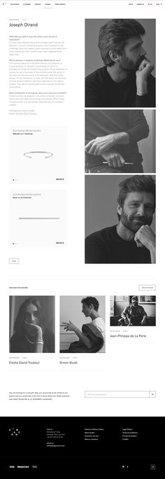 LEGRAMME, ecom editorial website