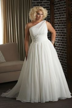 A great collection we've had success with: Unforgettable Collection by Bonny, Style 1313 (available in sizes 16-32)