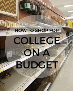 Five tips for stretching your wallet during college shopping season. college student tips #college #student