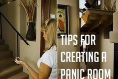 Tips for Creating a Panic Room - someday when I have my own house, I WILL have one of these for the great tribulation Hidden Spaces, Hidden Rooms, Secret Space, Secret Rooms, Panic Rooms, Gun Rooms, Safe Room, Essentials, Secret Compartment