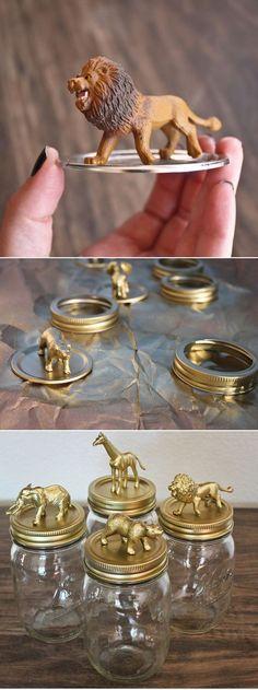 DIY dieren op pot