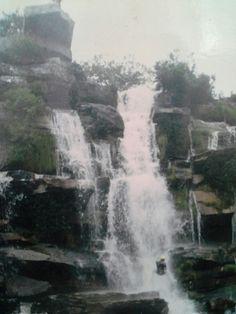 Rapel  cachoeira morro do pilar. M. G.