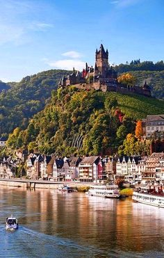Reichsburg Castle, Cochem, Germany                                                                                                                                                                                 More