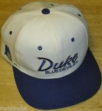 DUKE BLUE DEVILS 90s Vintage Snapback hat (SPORTS SPECIALTIES) Bradn New! 5980194ab876