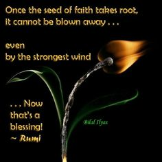 Rumi. Now that's a blessing