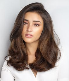 One Side Parted Wavy Human Hair Women Wig 20 Inches Wavy Hair hair Human Inches Parted Side wavy Wig Women Medium Hair Styles, Curly Hair Styles, Natural Hair Styles, Brown Hair Colors, Natural Hair Color Brown, Soft Black Hair, Trendy Hairstyles, Guy Hairstyles, Side Part Hairstyles
