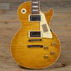 Gibson Custom Shop True Historic 1959 Les Paul Reissue Vintage Lemon Burst