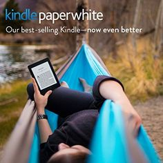 "Kindle Paperwhite, 6"" High-Resolution Display (300 ppi) with Built-in Light, Wi-Fi"
